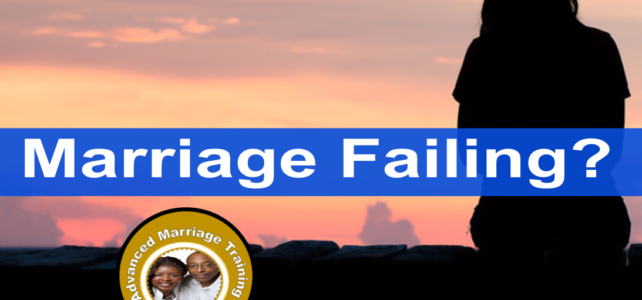 How to save a failing marriage?